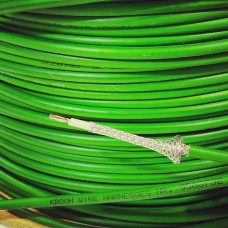 Green shielded wire (for O2 sensors, distribution signal etc) art.no 95687323