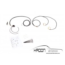 Harness set for Cibie Hoodlights 1974-1989 (G model)