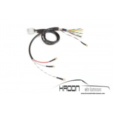 Wire harness with 8 pole connector for turn signal switch 911  912 1965-1968 art.no:911.612.301.03