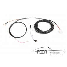 Tunnel heater panel harness 1975-1986 RHD