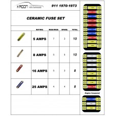 Ceramic fuse set for Porsche 911 1970-1973