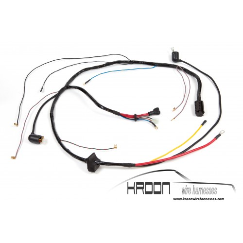 wire harness for engine bosch generator 1970