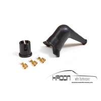 Fuel pump connector & rubber boot set KRO7