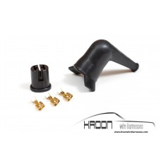 Fuel pump connector & rubber boot set