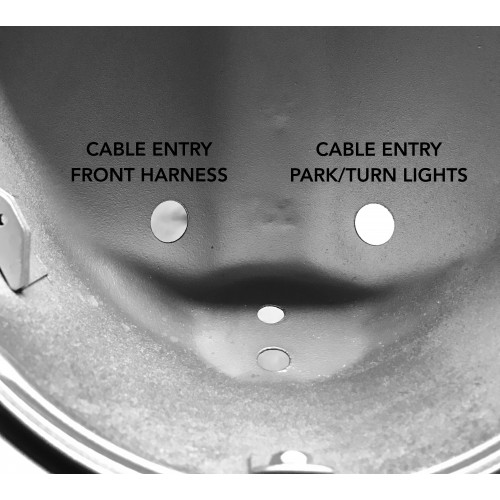 Cable Grommet Front Harness Headlight Bucket For 911 1974
