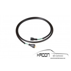 Extension oil pressure connection wire 911 1965