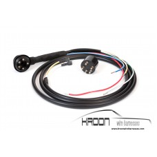 Foglight wire harness for: Porsche 911/912 69-73 version