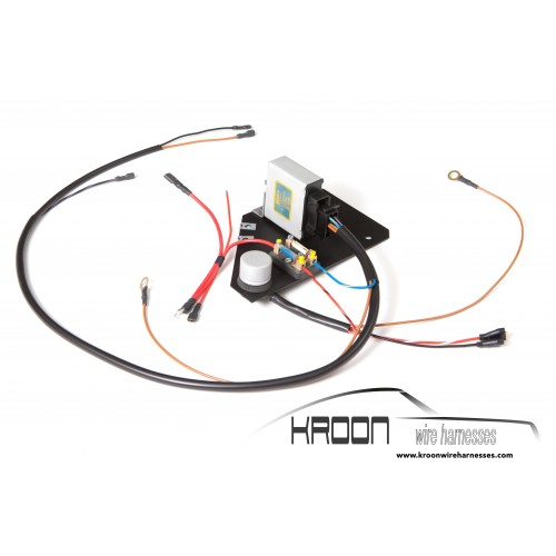 emission wiring harness engine emission control harness for: porsche 912 1969 us 300w led wiring harness in 3m length relay switch button motorcycle wiring harness