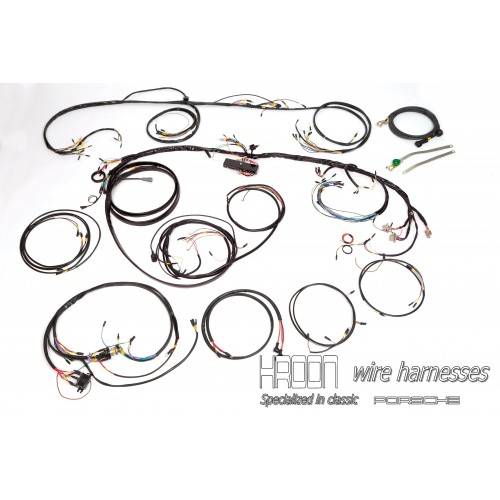 Complete Harness Set For Right Hand Drive 912 1966
