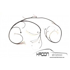 Wire harness front luggage compartment Porsche 911/901  (only 1964/65) art.no: 901.612.001.01