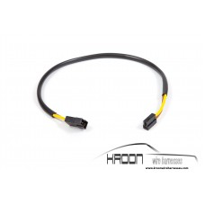 Wire harness pump headlight washer system.
